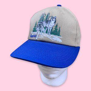 Wilderness Embroidered Vintage Snapback